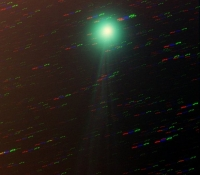 Comet Lovejoy in Colour