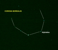 Corona Borealis Outline