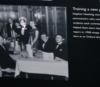Stephen Hawking at Herstmonceux