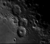 Moon taken with Meade 127mm with 2.5x Powermate and ASI120