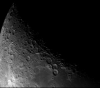 Moon Wide Shot with ASI120MM and Meade 127mm Telescope