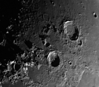 Moon with 5x Powermate and 80mm Scope
