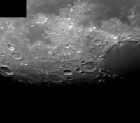 Moon with Meade DSI Pro 1