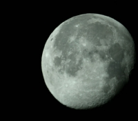 Waning Gibbous Moon - Aug 2007