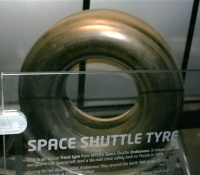 A Space Shuttle Tyre