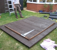 Laying out the roof