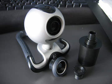 Quickcam Pro 4000 Webcam without lens
