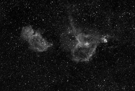 IC1805 Heart and Soul Nebula