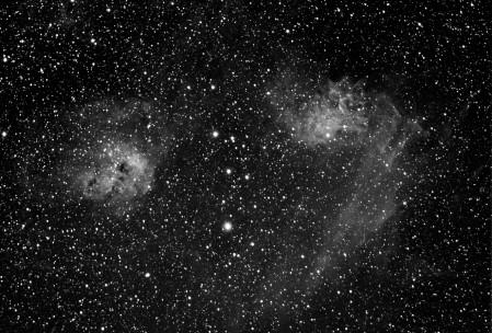 IC405 Flaming Nebula