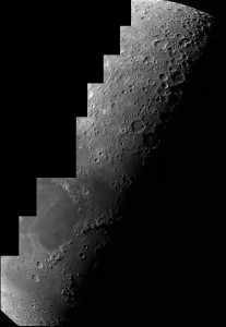 "Moon Mosaic with Altair Astro 8"" GSO RC and DMK21 Camera"