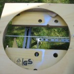 Adding washing line crosshairs