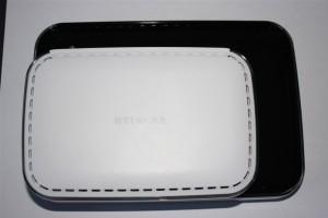 Netgear dgn3500 size versus dg834