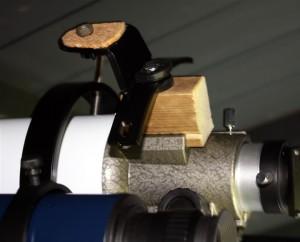 Wooden Camera Mount in Finder Slot