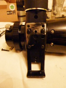 Add Bracket to Telescope