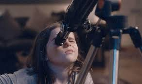 john lewis advert girl at telescope
