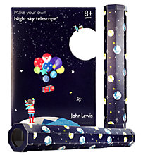 john lewis make your own telescope