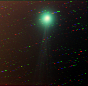 Comet Lovejoy in RGB