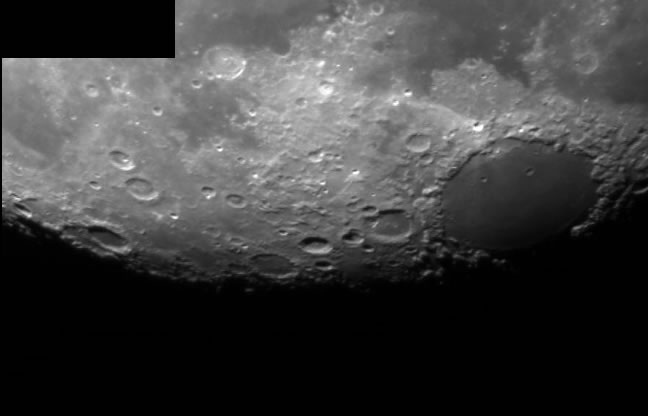 Moon with DSI Pro Mono and LX200