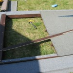 First outer door on roof