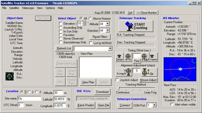 Satellite Tracker for Windows