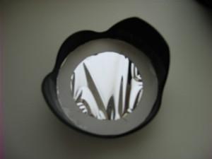 Homemade SLR Digital Camera Solar Filter