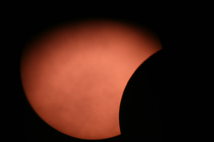 Partial Solar Eclipsed, UK 1st August 2008